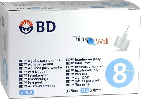 bd thin wall 8mm