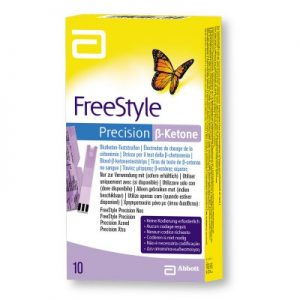 freestyle precision ketone strips 10ct abbott