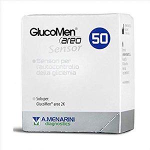 glucomen areo sensor 50 menarini box