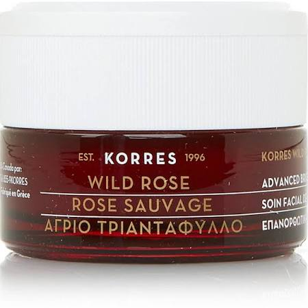 korres wild rose face cream