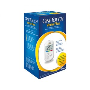 one touch verio flex blood monitoring system